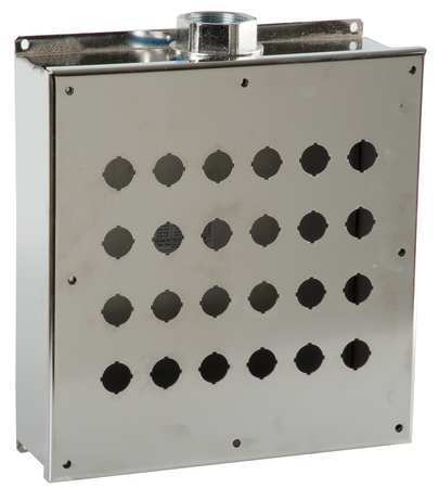 Pushbutton Enclosure 22mm 24 Hole 304 SS by USA GE Electrical Pushbutton Enclosures & Accessories