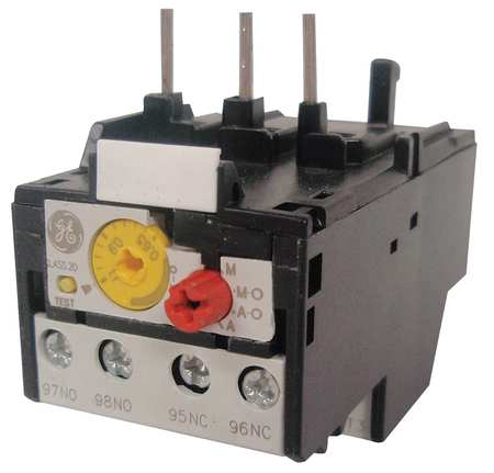 Overload Relay 1.30 to 1.90A Class 20 3P by USA GE Electrical Motor Overload Relays