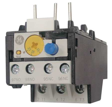 Overload Relay 0.16 to 0.26A Class 10 3P by USA GE Electrical Motor Overload Relays