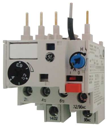 Overload Relay 0.11 to 0.17A Class 10 3P by USA GE Electrical Motor Overload Relays