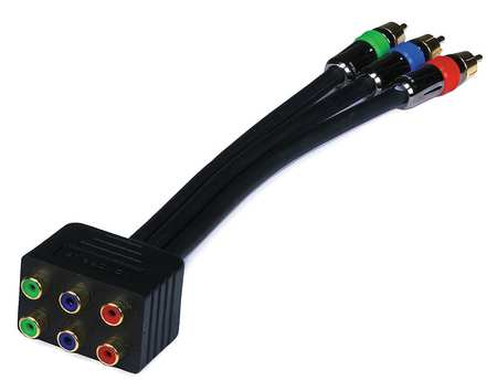 Cable Splitter 1to2 Way RCA RGB Conn RG6 by USA Monoprice Audio Video Splitters Connectors & Adapters