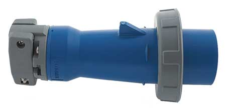 IEC Pin and Sleeve Plug 2P 3W 100A 250V by USA Hubbell Kellems Electrical Pin & Sleeve Devices