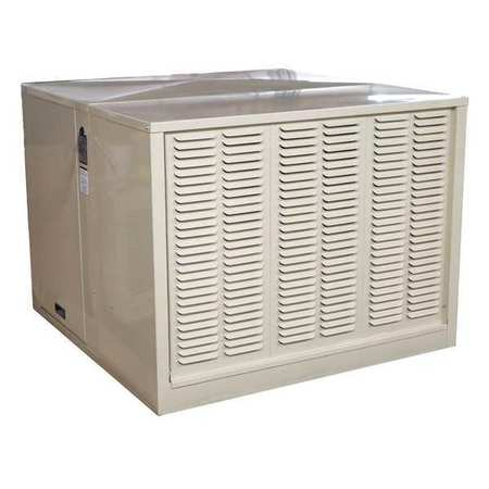 Evaporative Cooler,Ducted,4800 CFM -  HESSAIRE, RM4808S