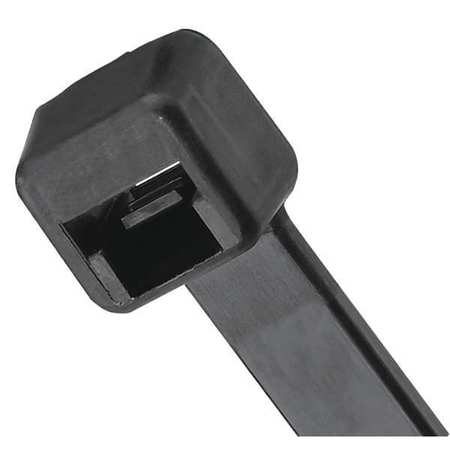 """Cable Tie 43.3""""L Nylon Black PK100 by USA Panduit Electric Cable Ties"""
