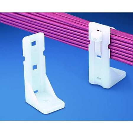 Cable Tie Mounts Screw Applied PK10 by USA Panduit Electric Cable Ties