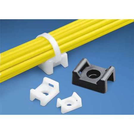 Cable Tie Mount Rivet Applied PK100 by USA Panduit Electric Cable Ties