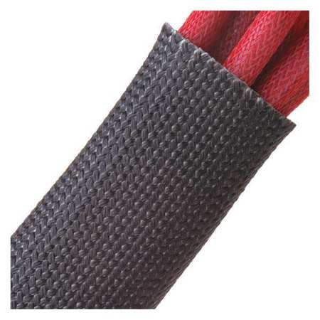 """Fiberglass Sleeving Coated 3/4"""" Black by USA Techflex Industrial Automation Temperature Controllers"""