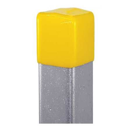 """Safety End Cap 13/16""""X1 5/8"""" Yellow PK25 by USA Vast Electrical Strut Channel Accessories"""