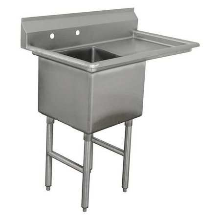 Fabricated NSF Sink,16g,304,Ss,38.5x30 -  ADVANCE TABCO, FC-1-1824-18R-X