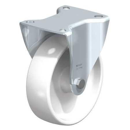 "Blickle Rigid Plte Cstr White Nylon 5"" 330 lb."