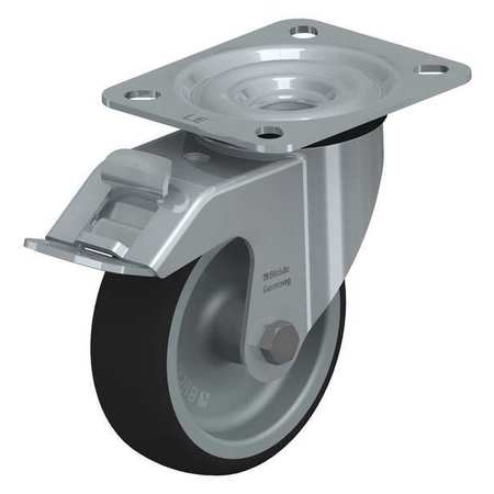 """Blickle Swivl Plte Cstr Polyurthane 4"""" Brake Type LE-PATH 100G-FI"""