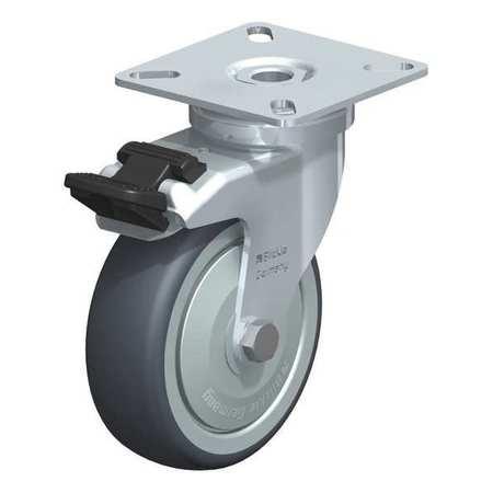 """Blickle Swvl Plte Cstr TPR Rubbr 3-1/8"""" Brake Type LPA-TPA 75K-FI-FK"""