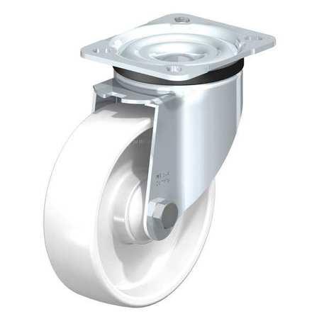 """Blickle Swivl Plte Castr White Nyln 5"""" 660 lb."""