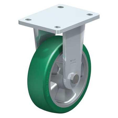 "Blickle Rgd Plate Caster Poly 6-1/4"" 1210 lb."