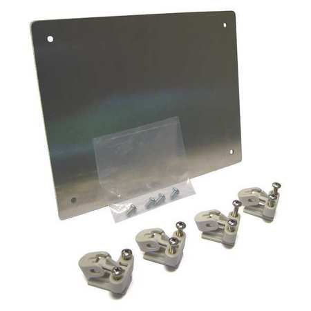 Swing Panel Kit For Polycarb Encl,16x14