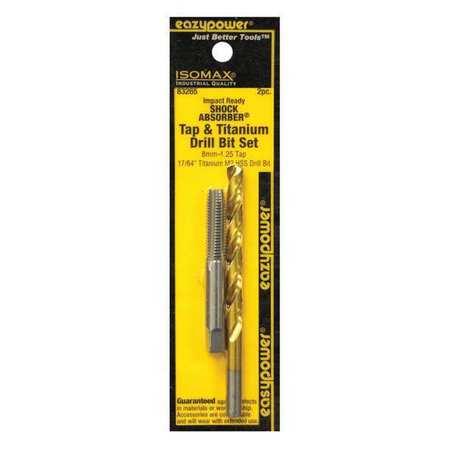 Eazypower Drill Bit Set 8mm 1.25/17/64 2 pcs.