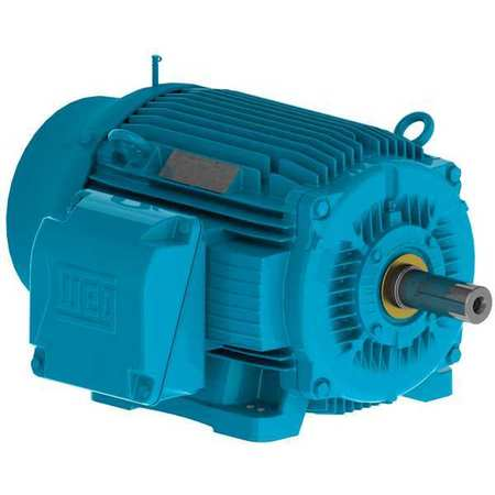 Mtr 3ph 250 HP 1780 460V 447/9T Eff 96.2 by USA Weg General Purpose Three Phase AC Motors