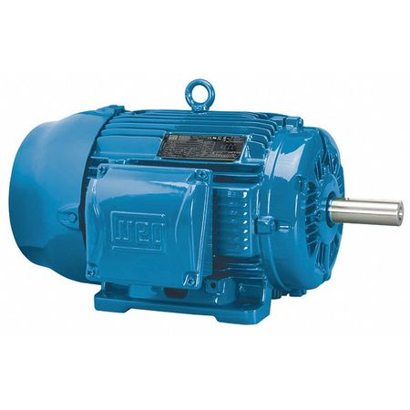 Motor 3 Ph 2 HP 3490 575V 145T Eff 85.5 by USA Weg General Purpose 3 Phase AC Motors