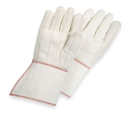 Heat Resistant Gloves,white,mens L,pr