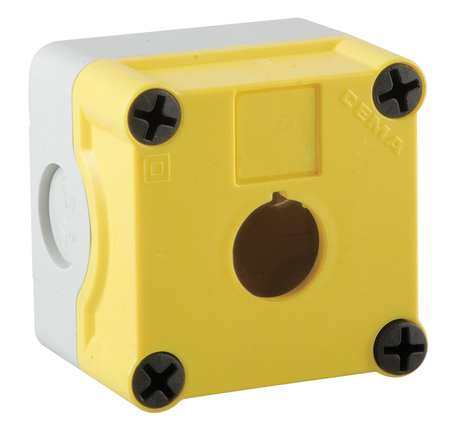 Pushbutton Enclosure 22mm 2.83 in. H by USA GE Electrical Pushbutton Enclosures & Accessories