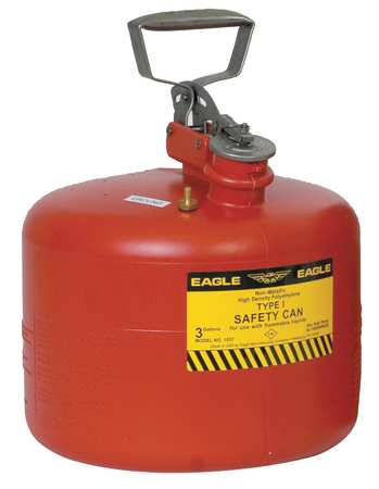 Type I and II Metal and Polyethylene Safety Cans