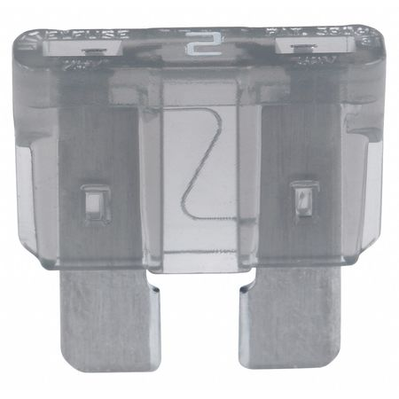2A Fast Acting Blade Plastic Fuse 32VDC Min. Qty 5 by USA Eaton Bussmann Circuit Protection Fuses