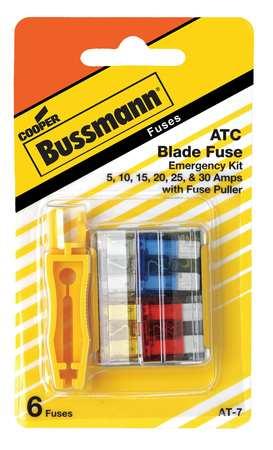 Blade Fuse Kit 6 ATC Automotive Fuse Kit by USA Eaton Bussmann Circuit Fuse Accessories