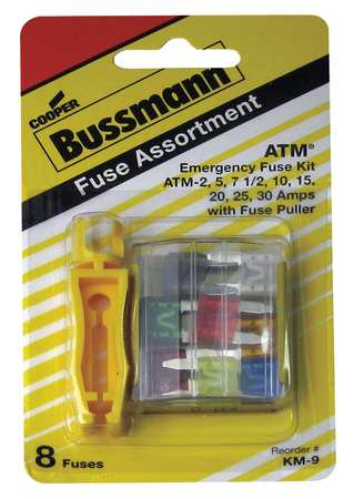 Blade Fuse Kit 8 ATM F Puller Automotive by USA Eaton Bussmann Circuit Fuse Accessories