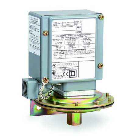 """Pressure Switch 1/4 18""""FNPT 3 to 150 psi by USA Square D Electrical Pressure Switches"""