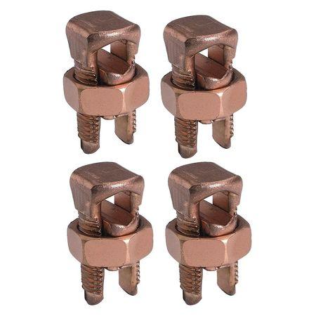 Split Bolt Connector Kit 6 str to 2 str by USA Burndy Electrical Wire Split Bolt Connectors