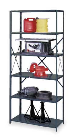 Industrial Shelving Freestanding,  Open Units