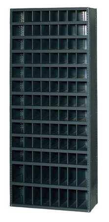 Bin Unit,104 Bins,36 X 18 X 85 In.