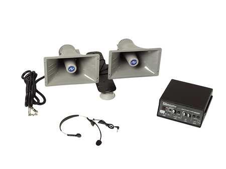 WIRELESS SOUND CRUISER by USA Amplivox Wired Intercom Systems