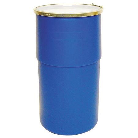 Value Brand Transport Drum Open Head 15 gal. Blue