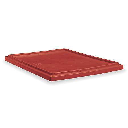 Nest/stack Lid,red,19-1/2x3/4x23-1/2