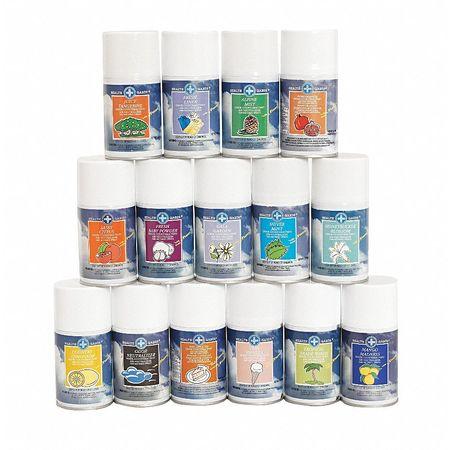 Aerosol Can Refill,7 Oz,baby Powder,pk12
