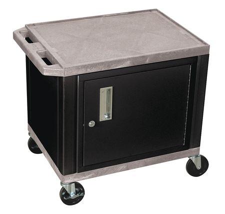 Value Brand Audio-Visual Cart 150 lb. Gray 18 In. L