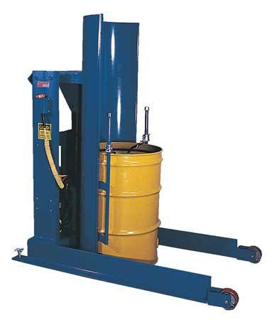 Value Brand Drum Dumper 60 In H 1000 lb.Cap Type HDD-36-10-S