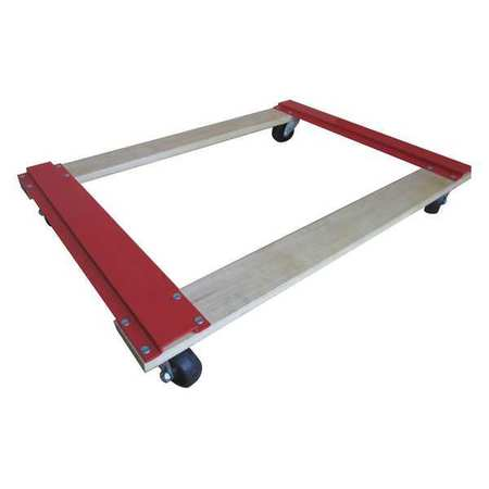 Value Brand Movers Dolly 1000lb 36x24x4-3/8 In.