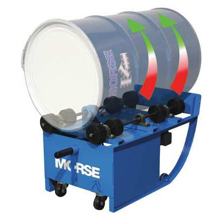 Value Brand Drum Roller 1 Drum 500 lb. Portable
