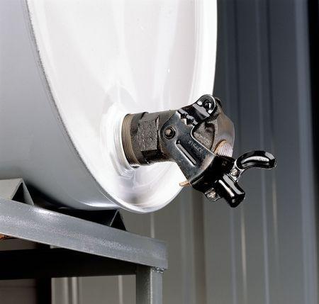 Value Brand Drum Faucet 2 In Manual Cast Iron