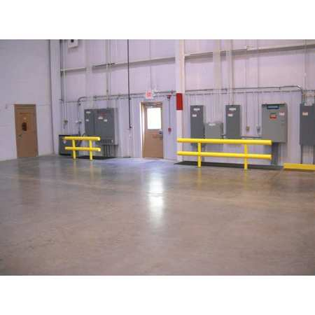 Value Brand Guard Rail System Yellow 42 In. H Steel Type SGR-2-120-42-P