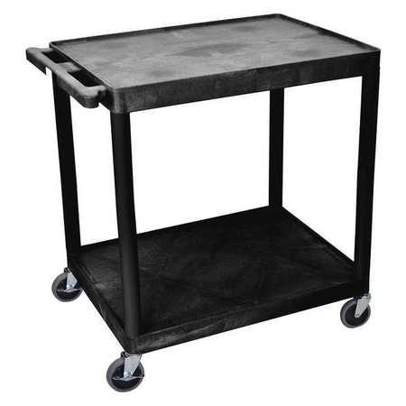 Luxor Utility Cart 400 lb. Load Cap. PE Type TC22-B