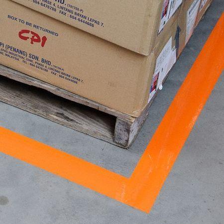 Brady floor marking tape roll 4in w 100 ft l 104376 for 100 floors floor 75