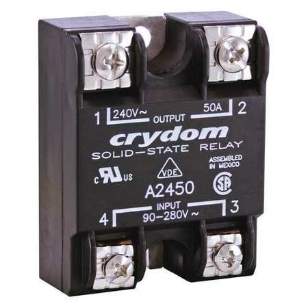 Solid State Relay 18 to 36VAC 50A by USA Crydom Electrical Solid State Relays