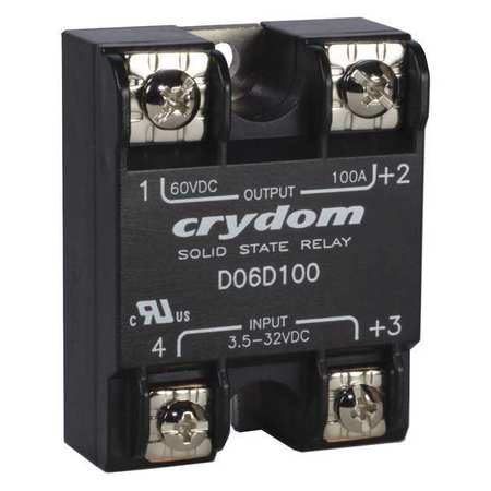 Solid State Relay 3.5 to 32VDC 60A by USA Crydom Electrical Solid State Relays