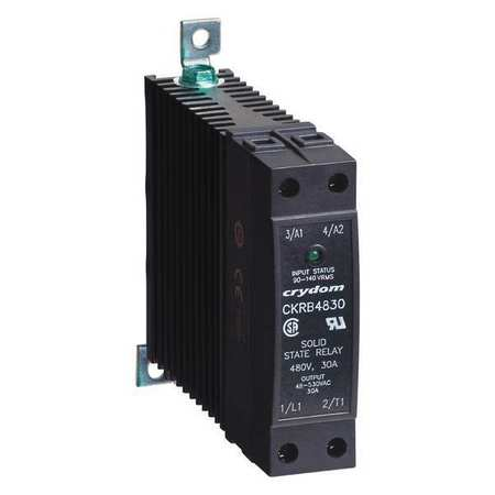 Solid State Relay 110 to 280VAC 20A Model CKRA2420 by USA Crydom Electrical Solid State Relays