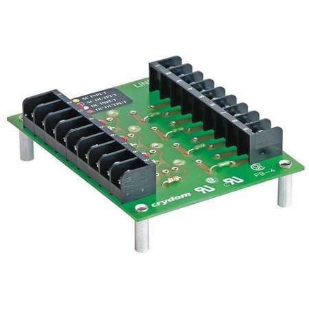Module Mounting Board 4 Position by USA Crydom Electrical Relay Accessories