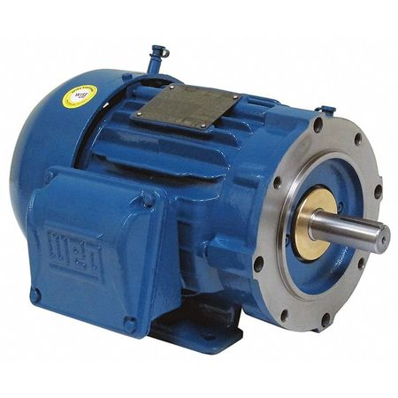 Motor 3 Ph 3 HP 1170 460V 213TC Eff 89.5 by USA Weg General Purpose 3 Phase AC Motors