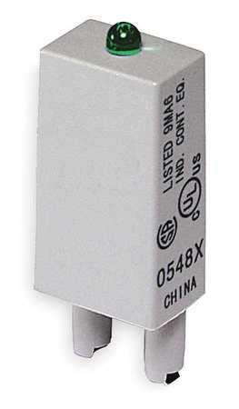 Relay Socket Module LED 2Pin 120/240 by USA Dayton Electrical Relay Accessories